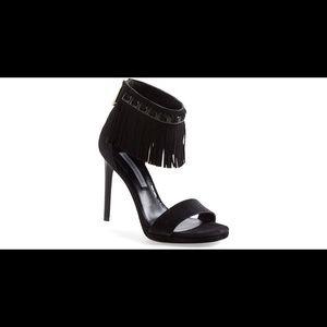Diane Von Furstenberg sandals with fringe 9.5
